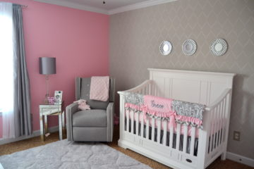 Pink and Gray Chic Nursery