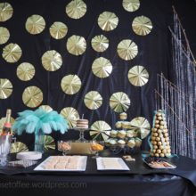photo of Great Gatsby First Birthday Party