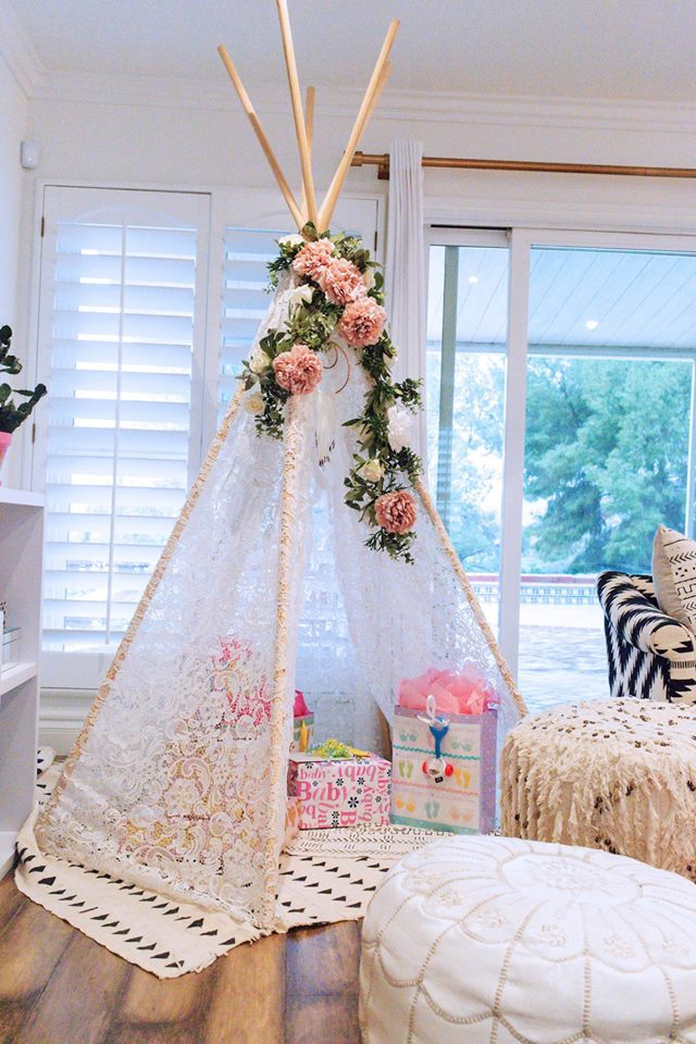 boho baby shower for cambria project nursery