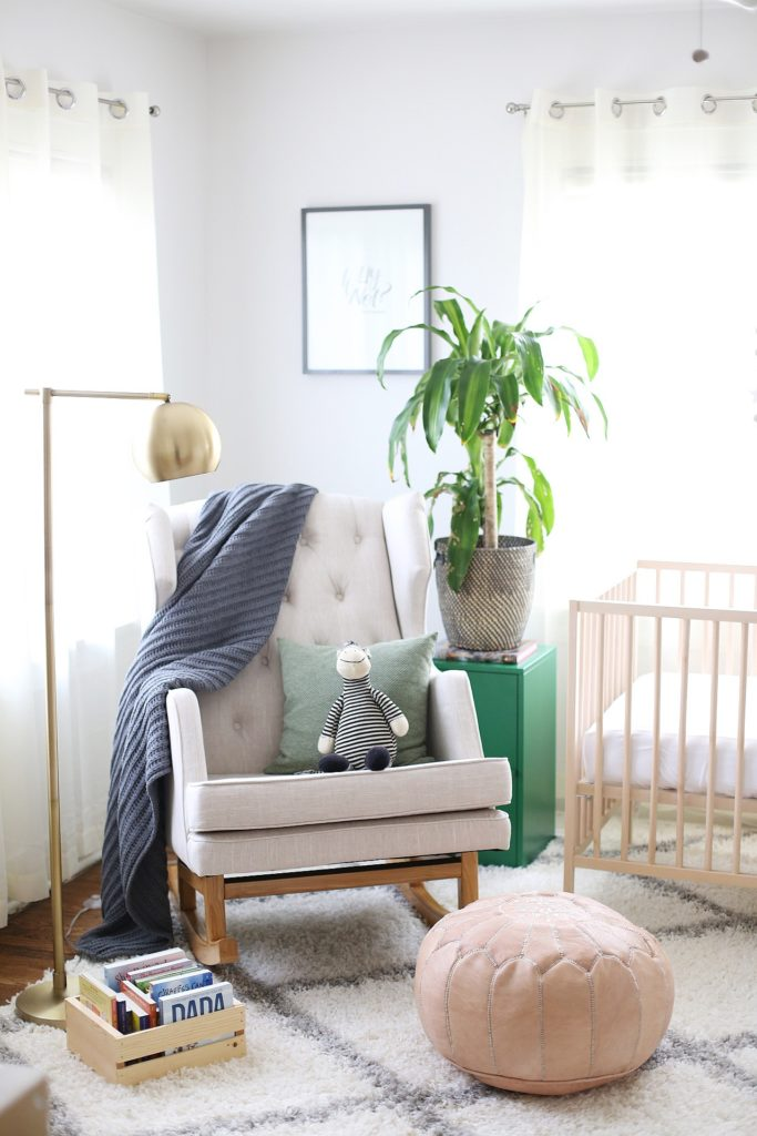 Sophisticated Gender Neutral Nursery Bright and Airy Nursery - Project Nursery
