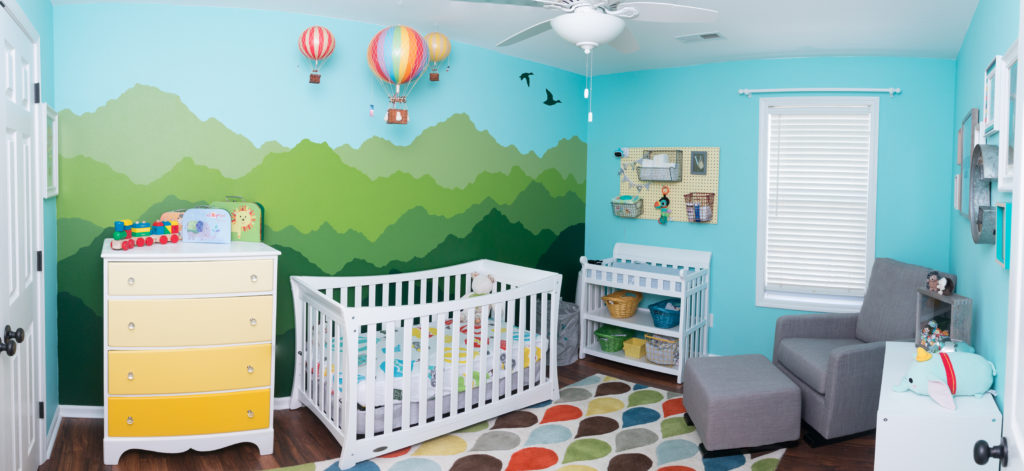 Baby Room Painting Ideas Mountains