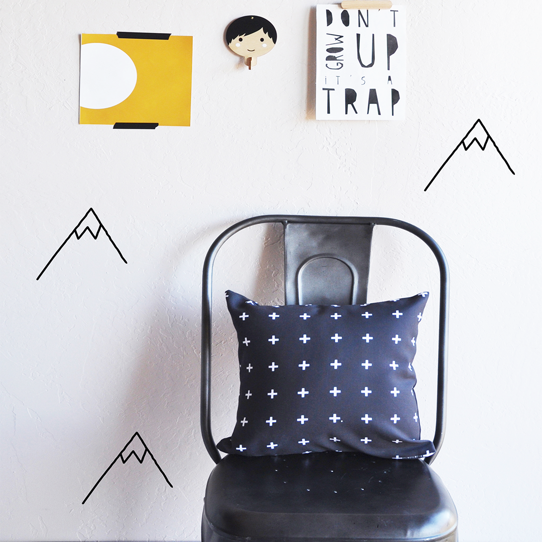 Mountains Wall Decals from The Project Nursery Shop