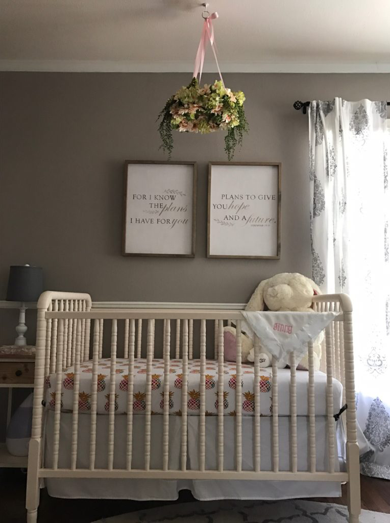 Neutral Nursery for a Girl