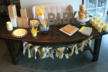 Bee Inspired Baby Shower