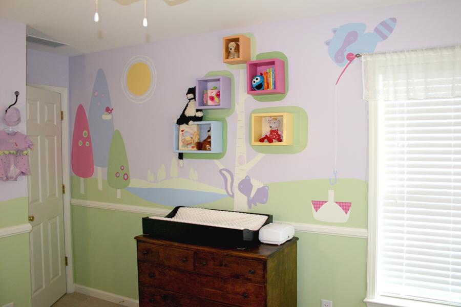 Ikea Nursery Room