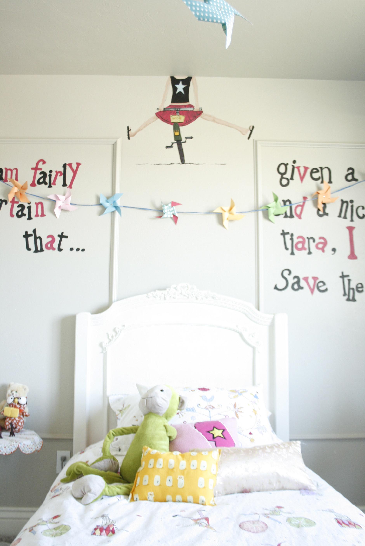 Children S Party Box Wall Art For Girl S Bedroom: Whimsical Girls Toddler Room