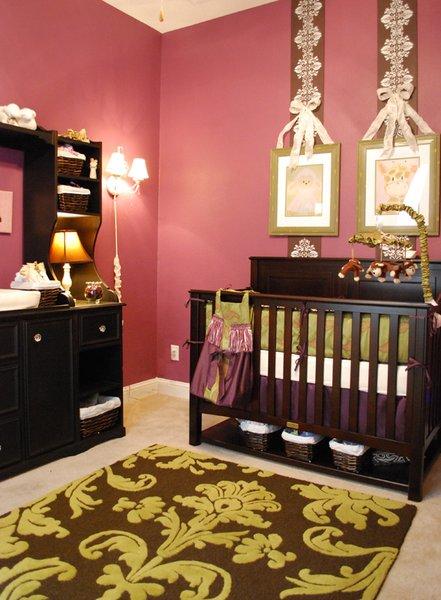 Glam Nursery In Rich Jewel Tones Project Nursery