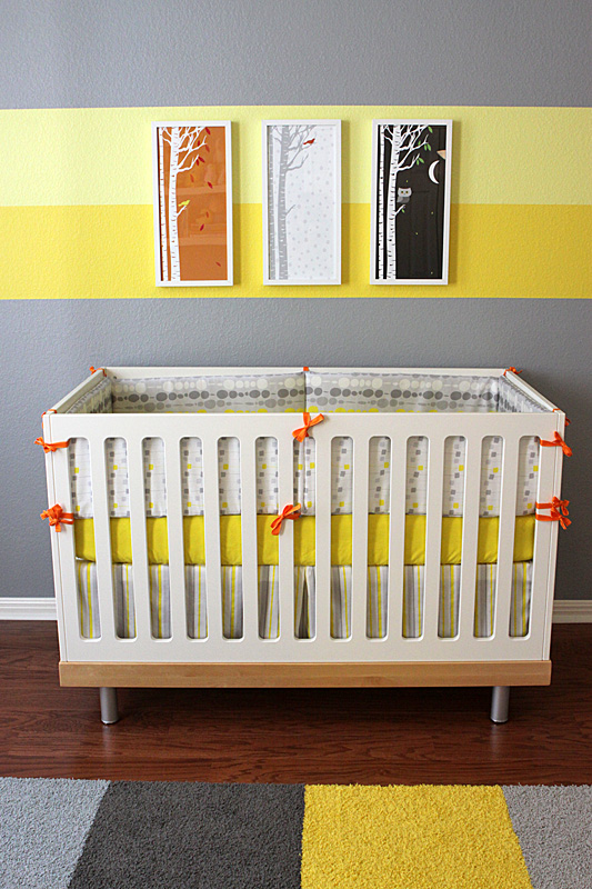 Gray And Yellow Nursery Project