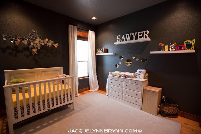 Modern Charcoal Baby Boy Room Project Nursery