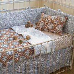 John Robshaw Lapiz Crib Bedding
