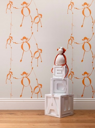 Whimsical Wallpapers For Children S Rooms
