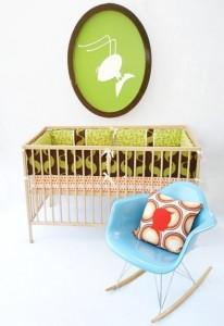 Aunt Bucky's Pee Wee Pasture Crib Set