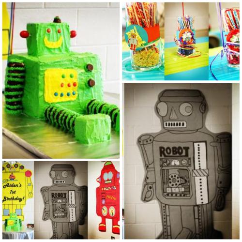 Robot themes for Robot baby room decor