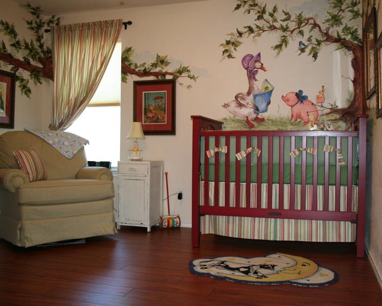 Jackson S Vintage Mother Goose Nursery Project Nursery