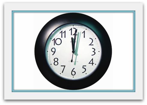 Clock nanny cam