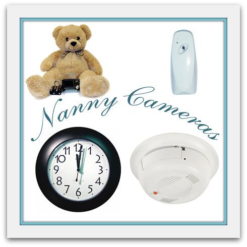 Nanny cameras in baby nursery design
