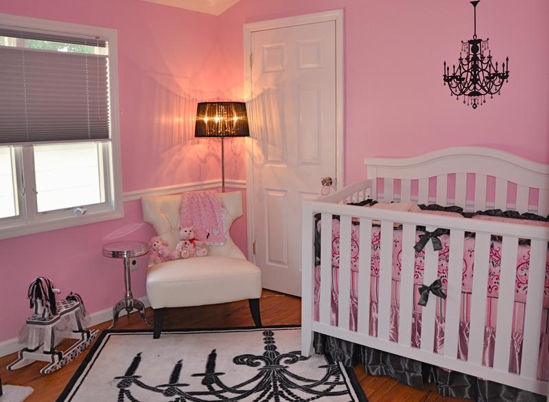 Pink Damask Girl Nursery Project Nursery