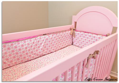 Caden lane bedding on the Hope Crib