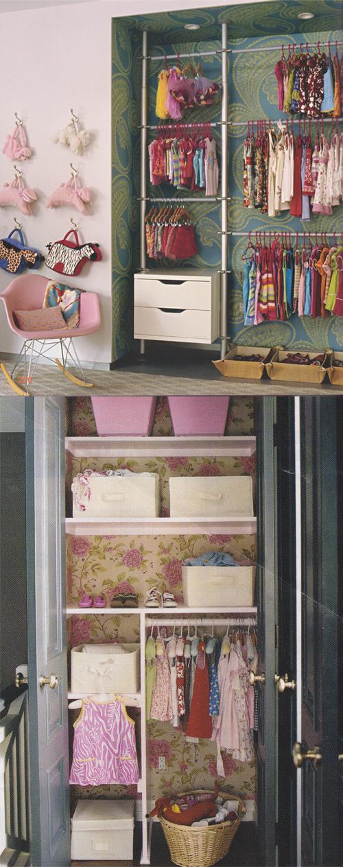 Organizing Kids Closets