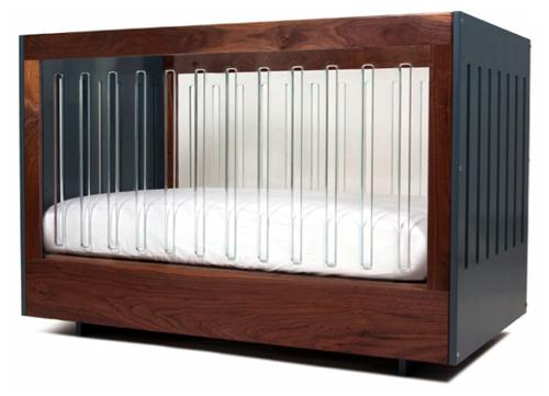 minimalist baby crib