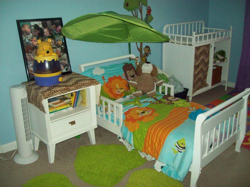 Jungle Room for Two & Jungle Room for Two - Project Nursery