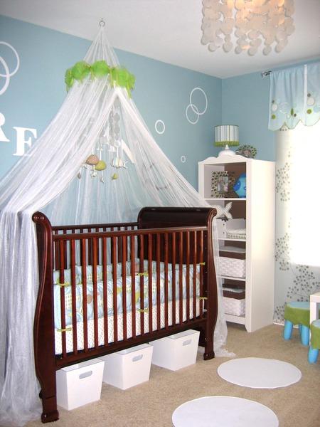 Modern Baby Nursery Design And Ideas: Modern Under The Sea Nursery