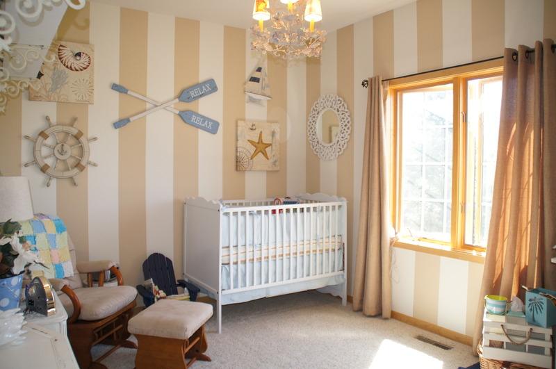 Baby S Beach Nursery On A Budget Project