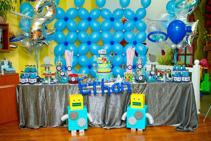 Robot Birthday Decorations: Robot Themed Birthday