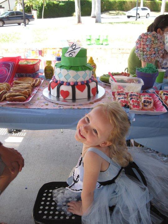 Layla S Alice In Wonderland Birthday Party Project Nursery
