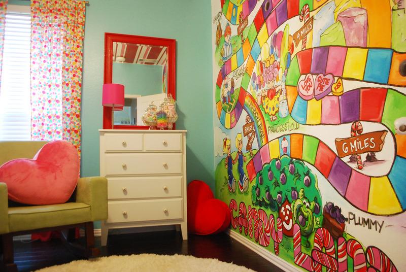 Poppie\'s Sweet Candy Land Nursery - Project Nursery