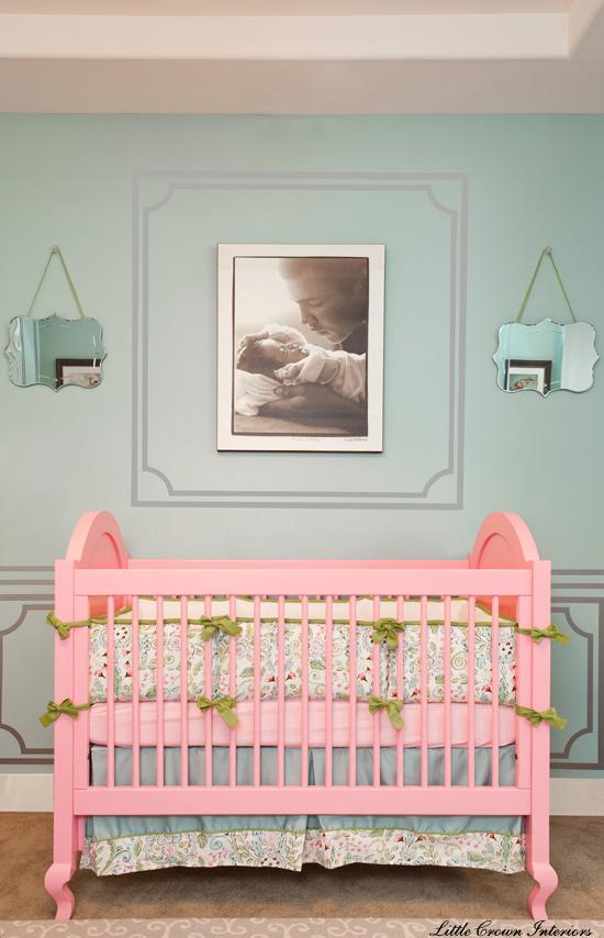 celebrity baby nursery crib