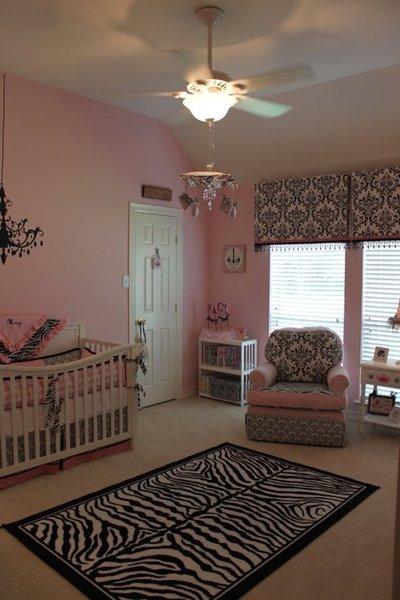 Pink Amp Zebra Nursery Project Nursery