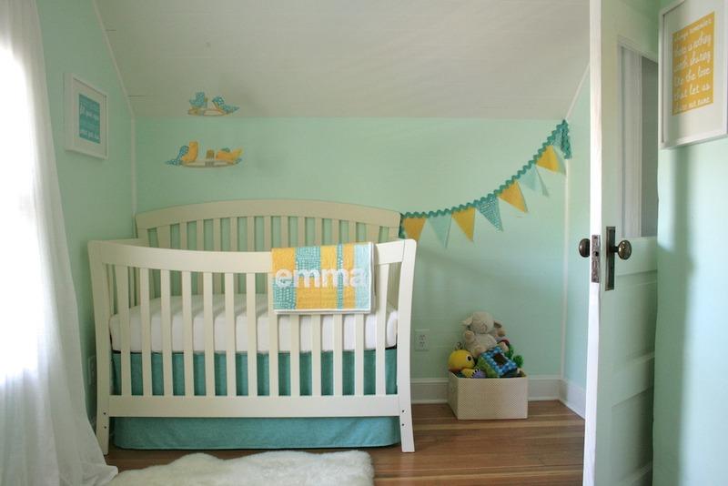 Emma S Diy Nursery Project Nursery