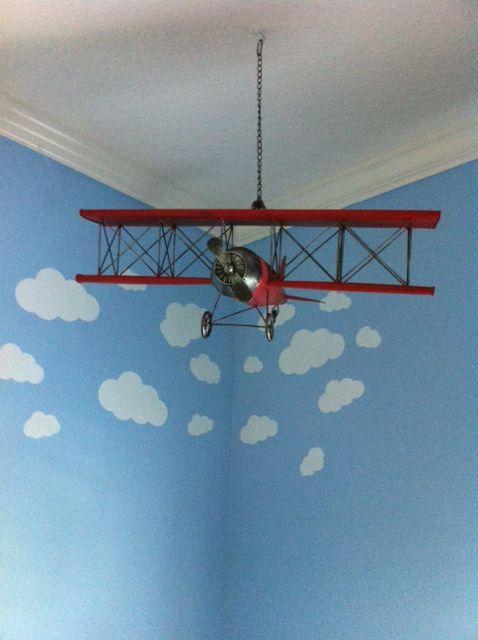 Andy S Airplane Themed Nursery