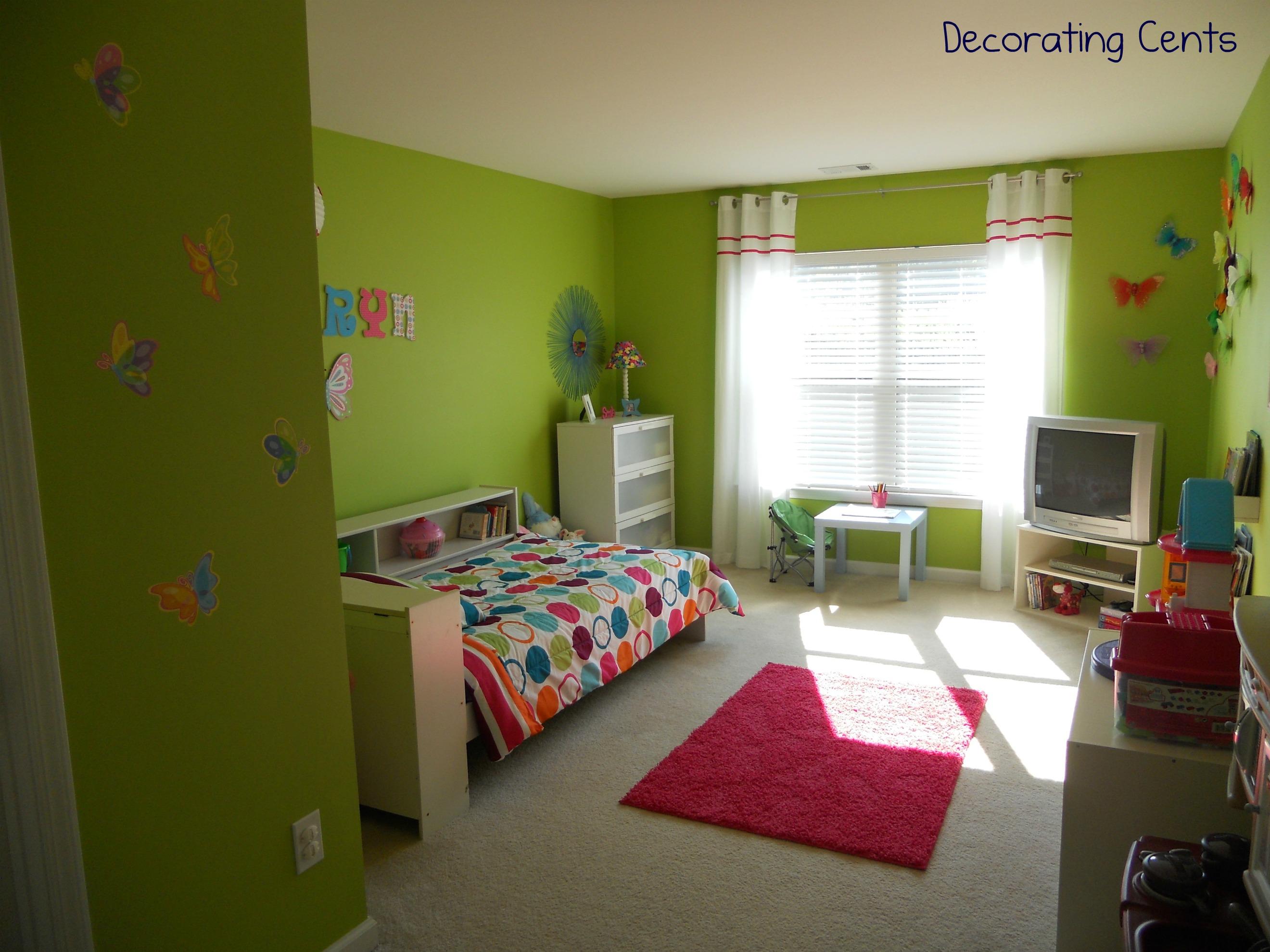 Little Girl 39 S Butterfly Room Project Nursery