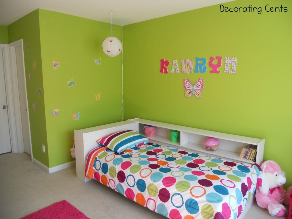 Little Girl S Butterfly Room Project Nursery