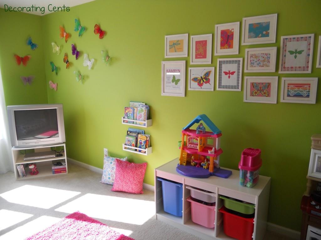 Little Girl\'s Butterfly Room - Project Nursery