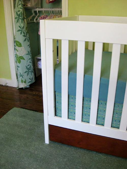 Diy Make Your Own Crib Skirt