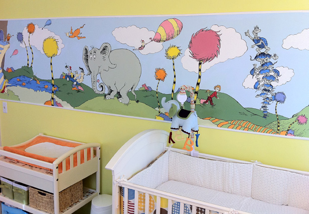 Dr. Seuss Inspired Nursery Part 19