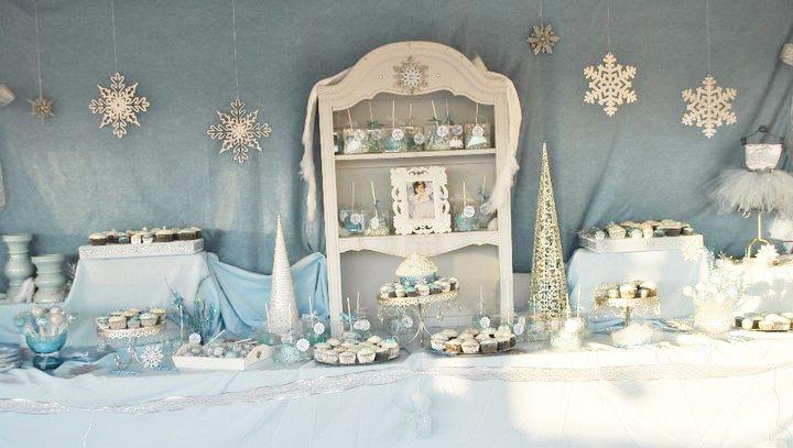 Winter Wonderland Birthday Party - Project Nursery