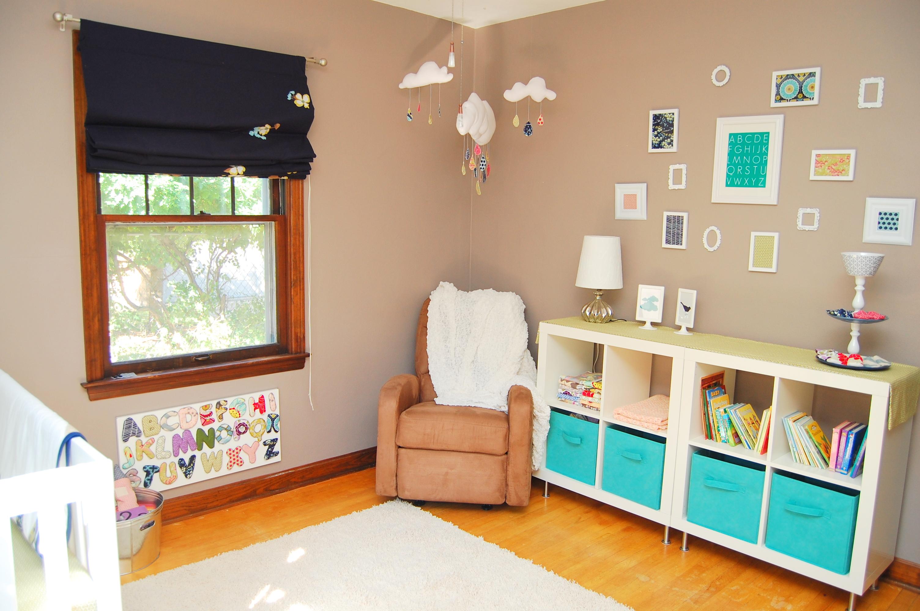 Modern Baby Nursery Design And Ideas: Modern Baby Girl Nursery