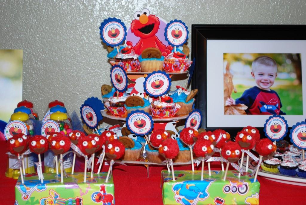 Jaxons Elmo Sesame Street Inspired 2nd Birthday