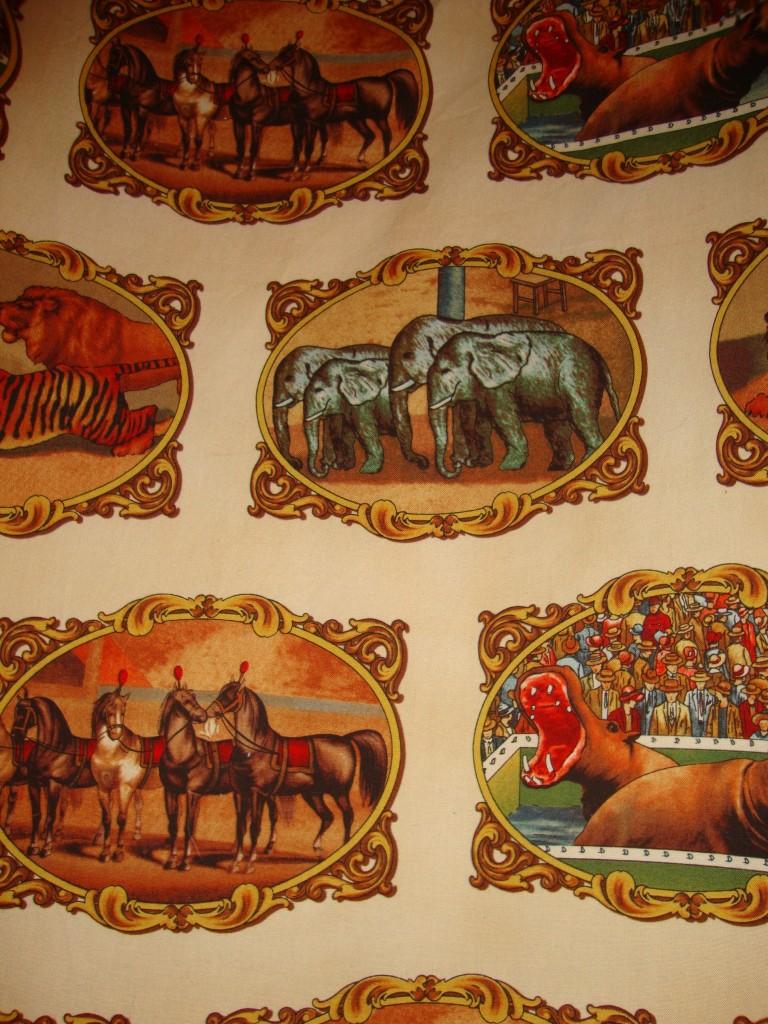 Colton Christopher Grier Vintage Circus Nursery Project
