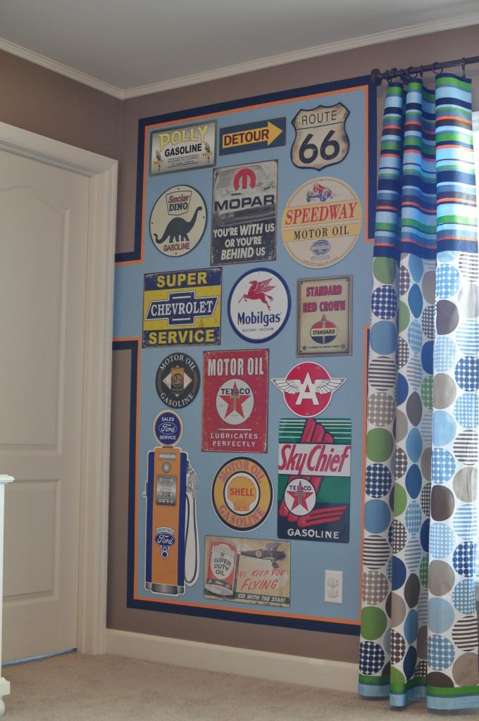 Vintage Truck Nursery Gallery Wall