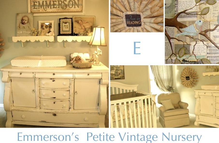 Emmerson 39 S Petite Vintage Nursery Project Nursery