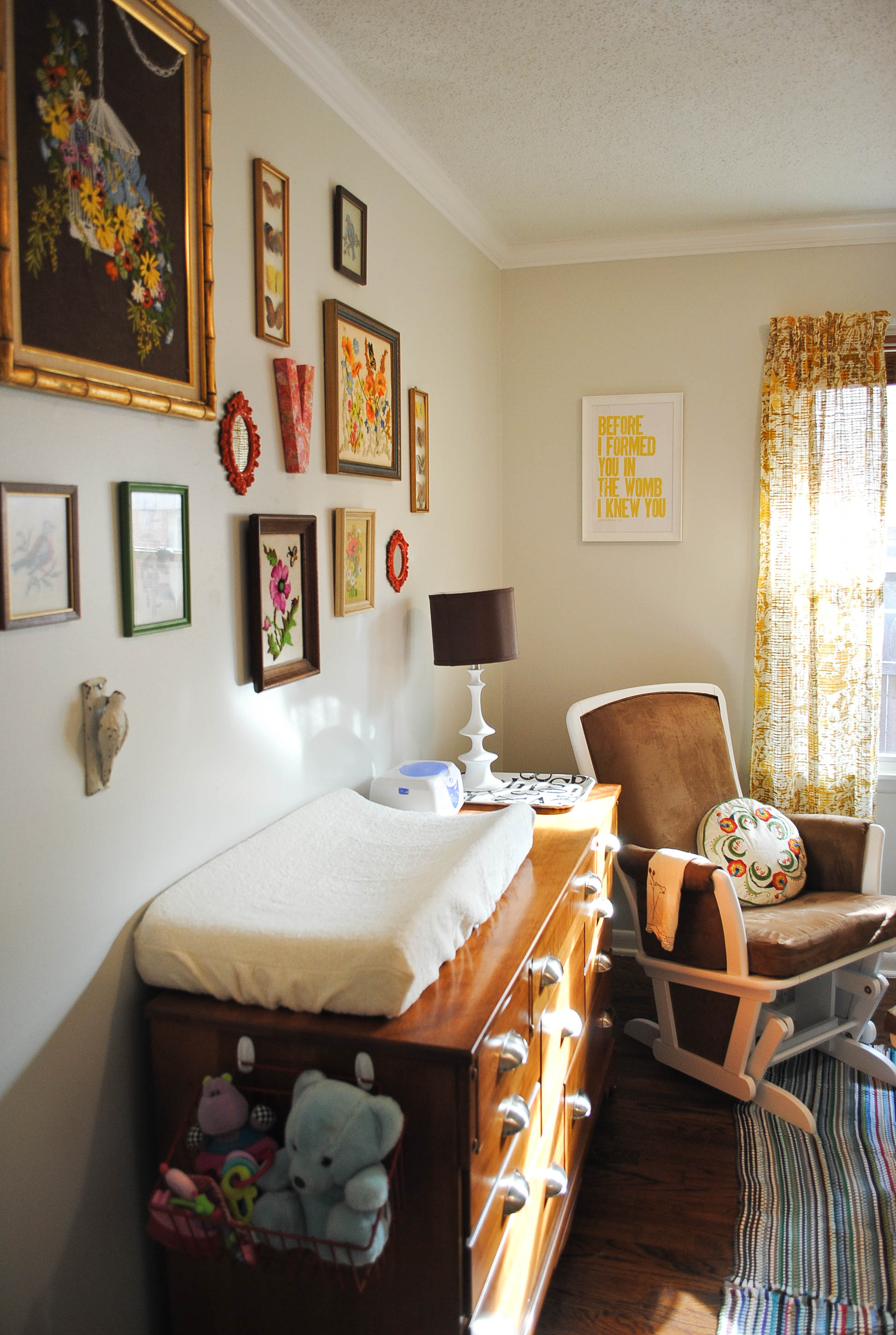 Light And Lovely Vintage Nursery Project Nursery