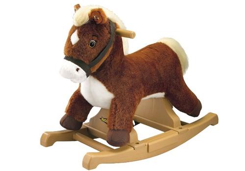 Rockin Rider Brown Pony