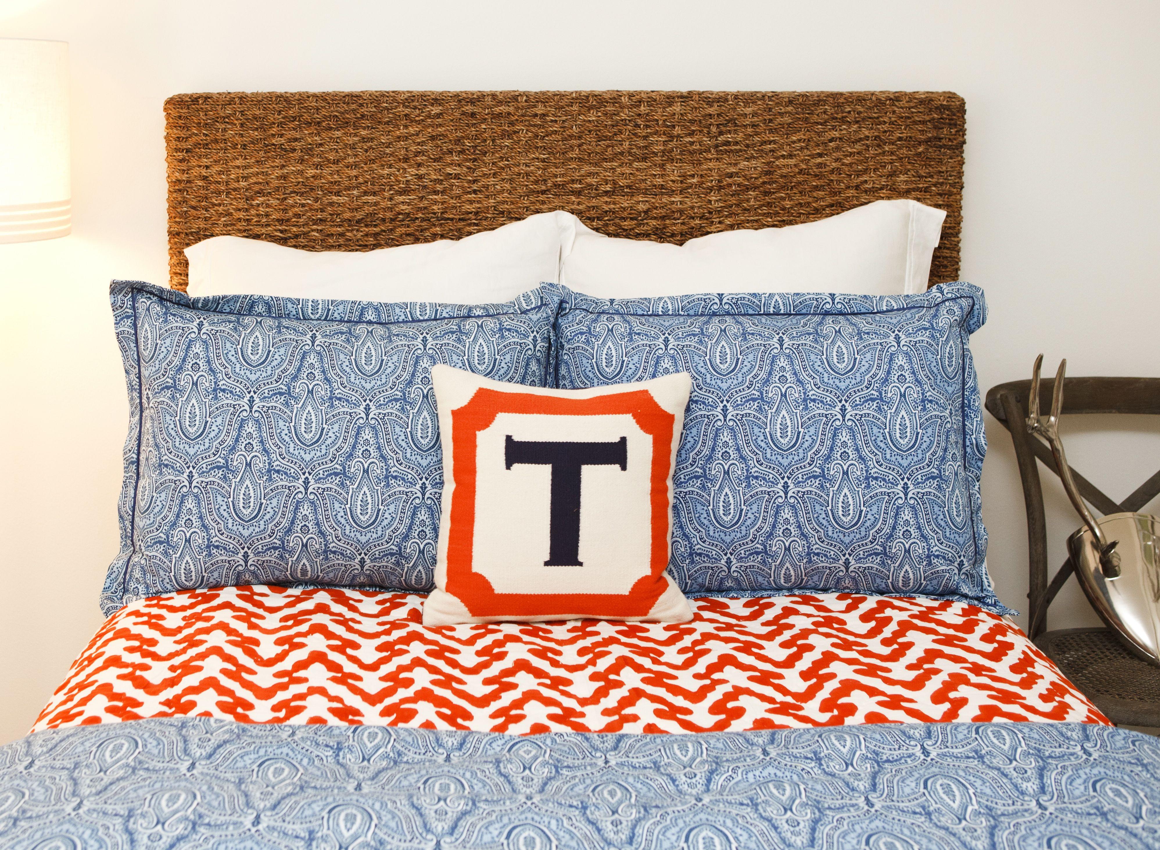 Jonathan Adler Initial Pillow