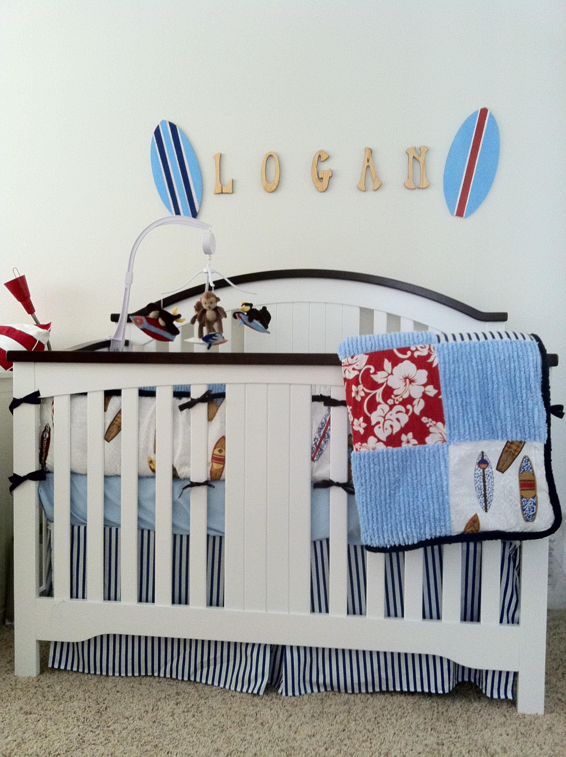 Surfer Baby - Project Nursery