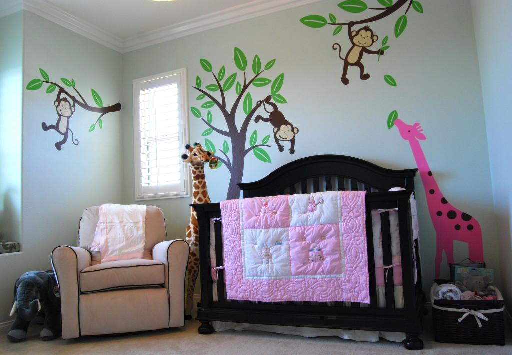 Monkey Nursery Decor - Nursery Decorating Ideas